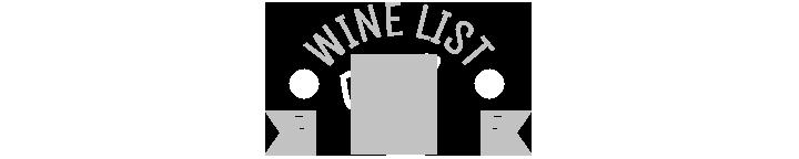 Wine List 2017