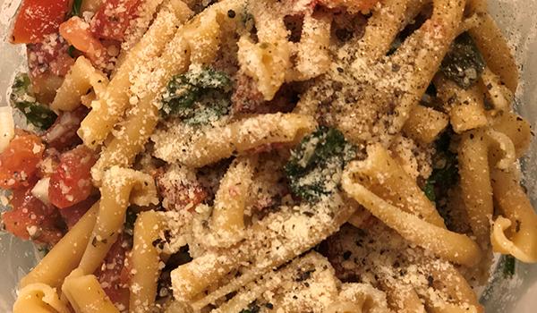 Spinach Tomato Pasta