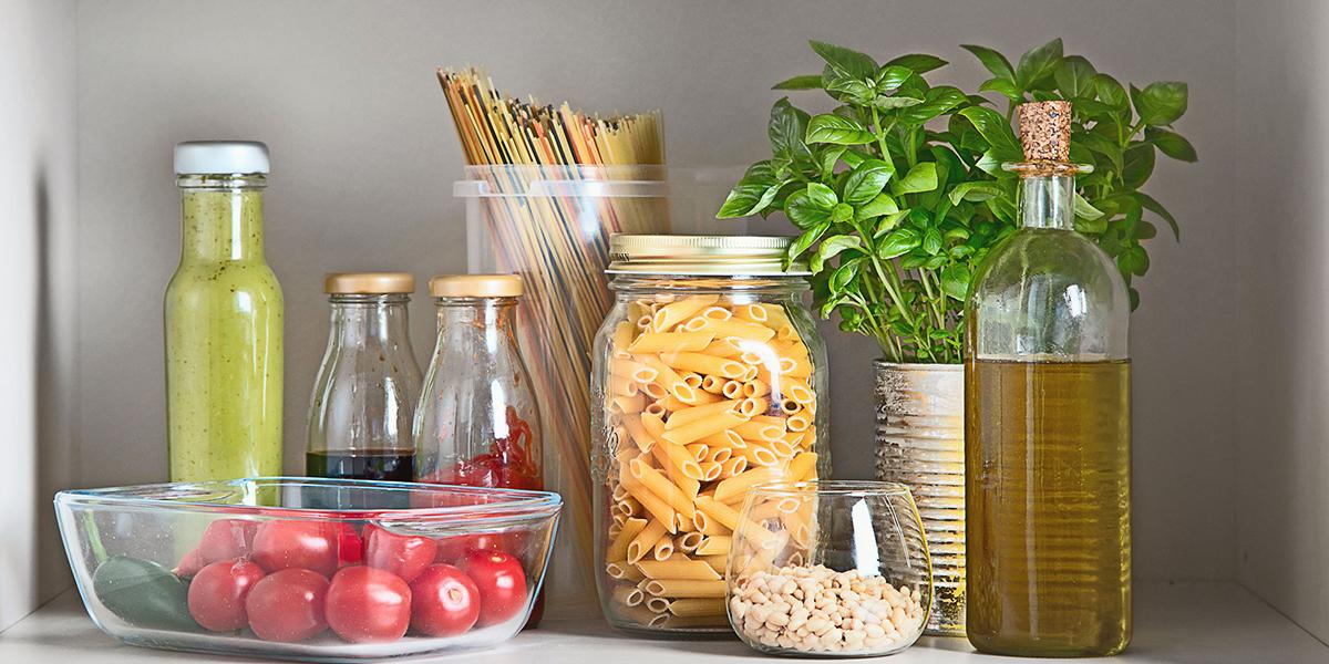 pantry fresh ingredients