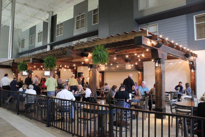 atrium bar at Forklift & Palate